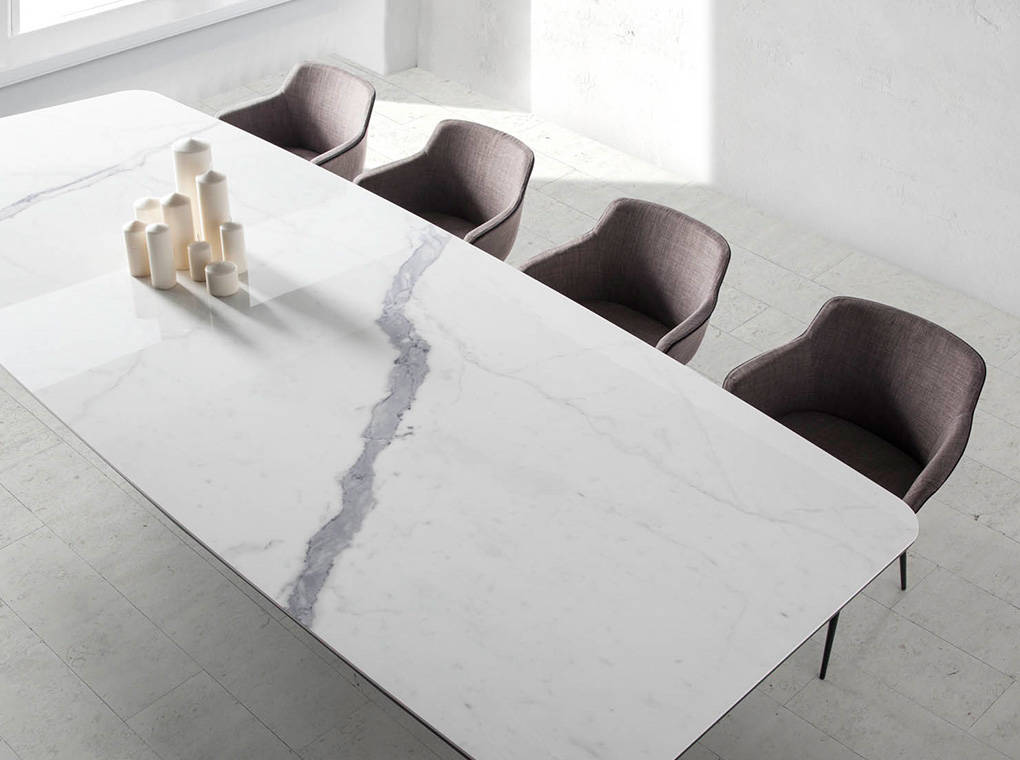 Dining Table With Ceramic Marble Cover Angel Cerd 225 S L