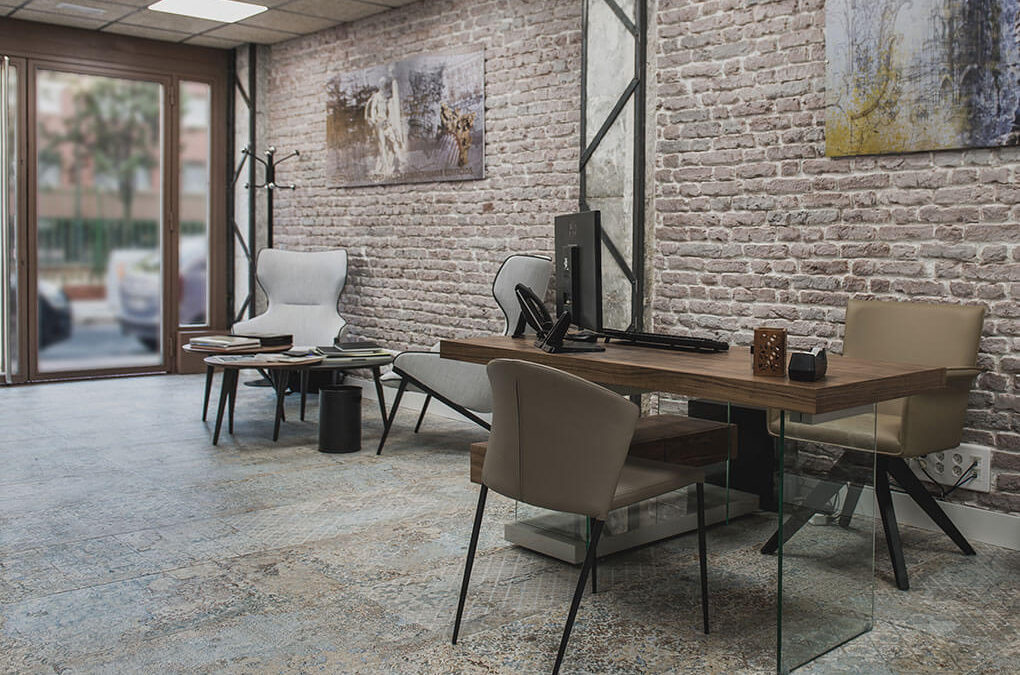 Office furnishing project in Madrid