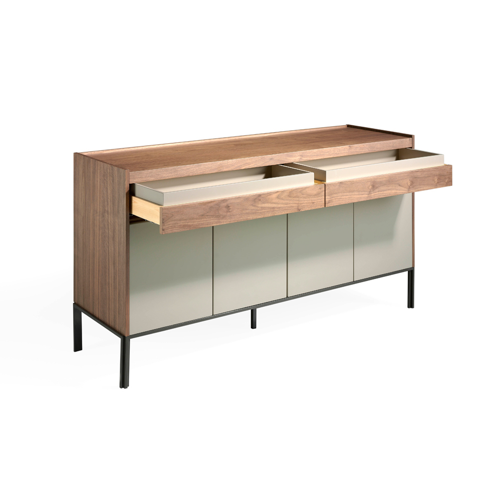 Sideboard with 4 doors and two drawers