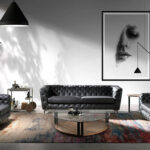 Sofa Trend Angel Cerdá FL1838-NEGRO