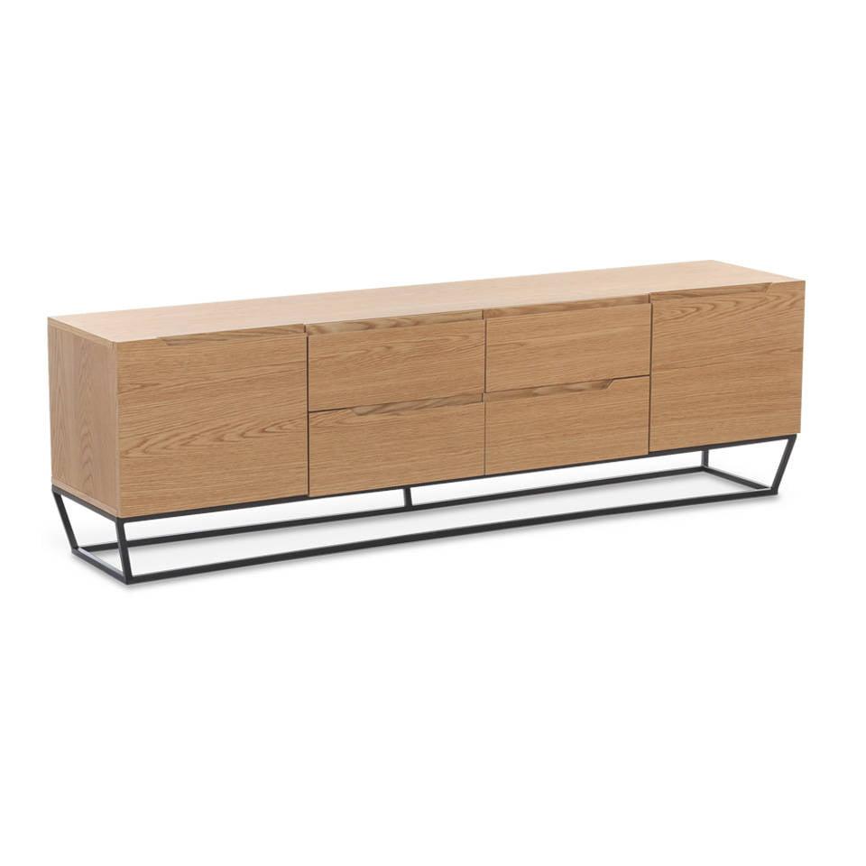 Mueble TV con estructura metálica - Angel Cerdá, S.L.