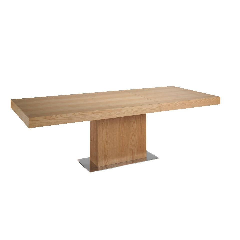 table manger de ch ne et m canisme extensible angel cerd s l. Black Bedroom Furniture Sets. Home Design Ideas