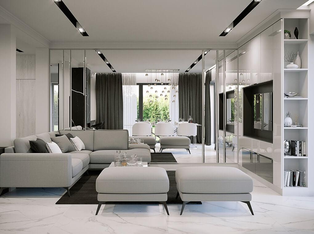 Proyecto 10 - Ambiente 3 – Diseño italiano