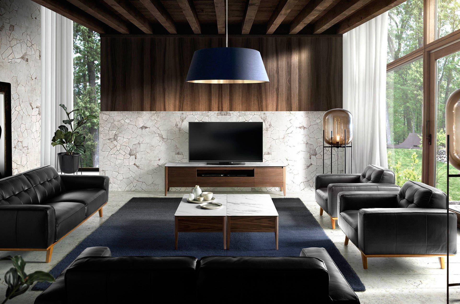 Incanto sofas by angel cerd italian design furniture for Sillones piel confort