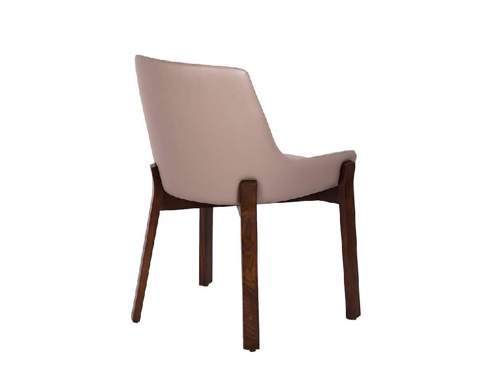 massivholz stuhl mit gepolsterter sitzfl che. Black Bedroom Furniture Sets. Home Design Ideas