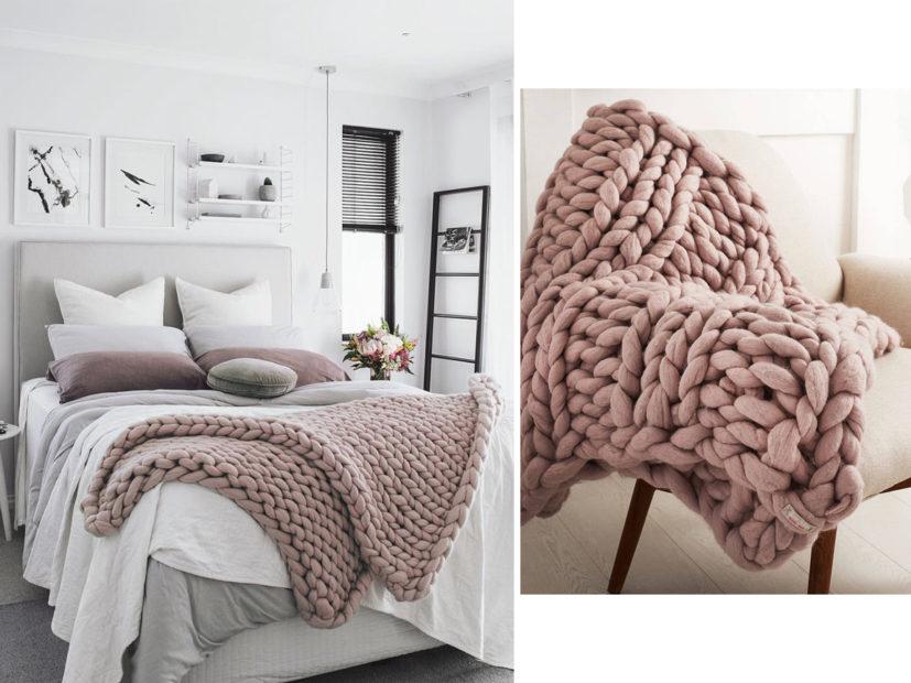 dormitorio para el invierno