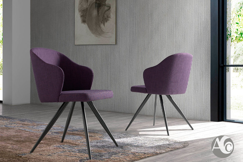 sillas de diseño italiano Angel Cerdá F3208