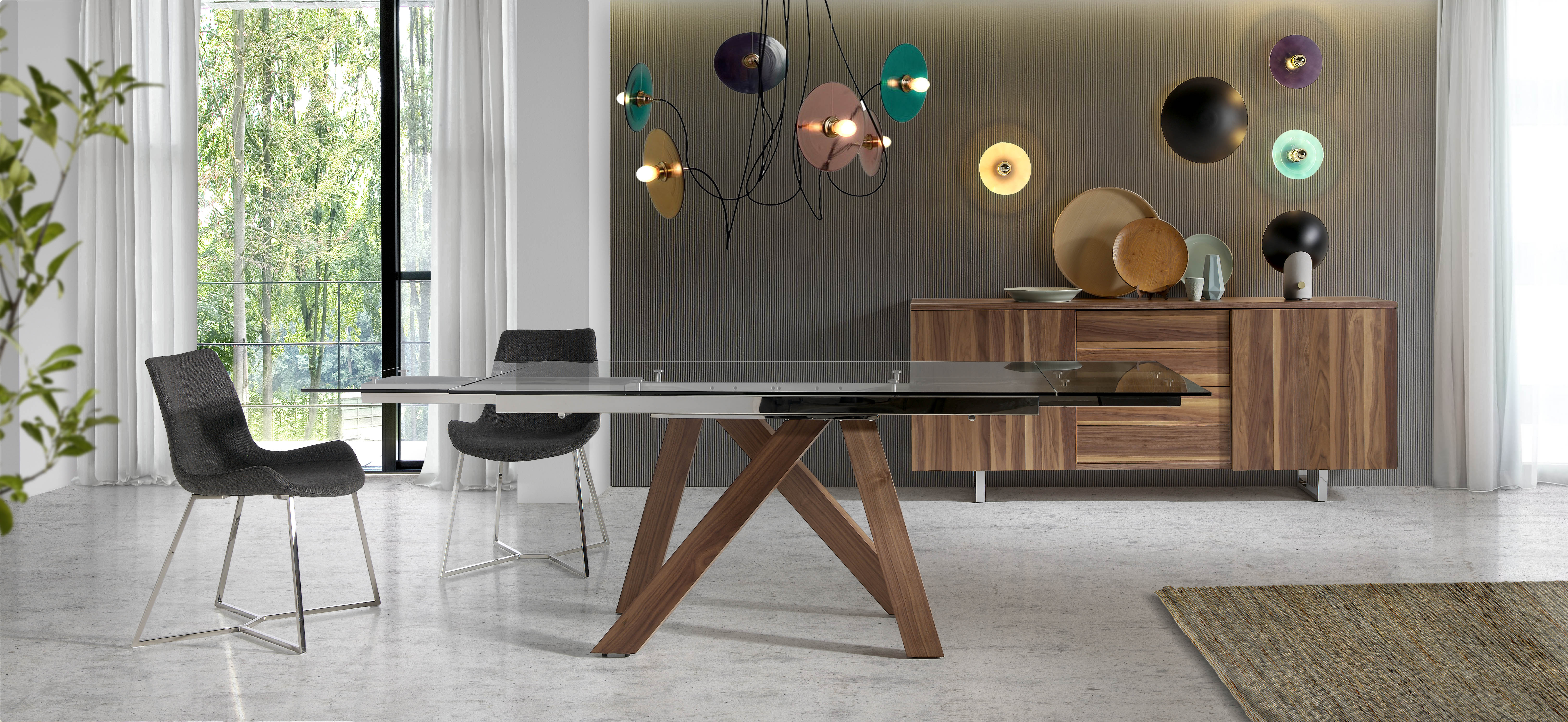 mesas de comedor de diseño italiano Angel Cerdá - Magazine Ángel Cerdá