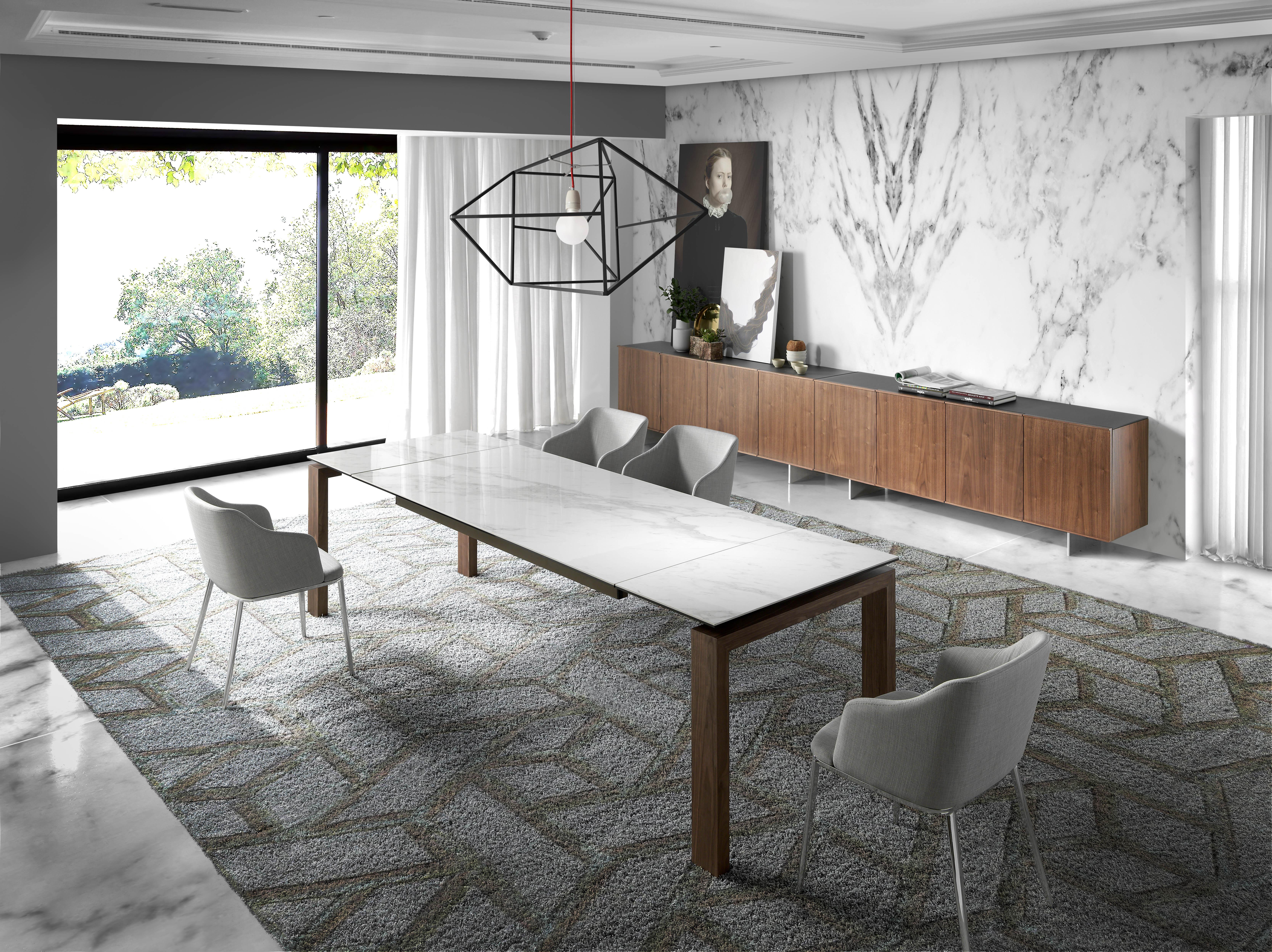 Mesas de comedor de diseño italiano by Angel Cerdá - Magazine Ángel ...