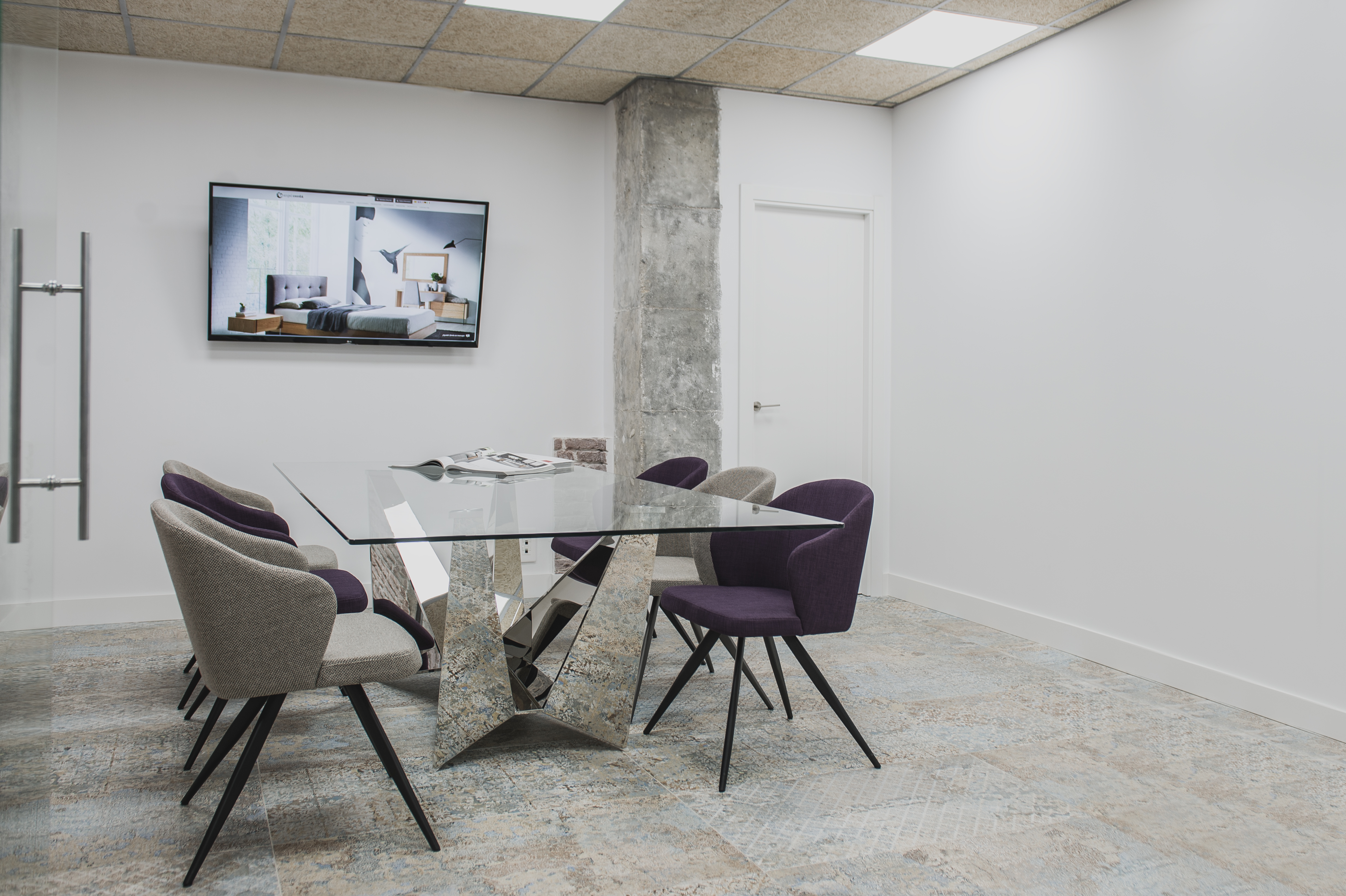 proyecto oficinas de diseño Siena Angel Cerdá