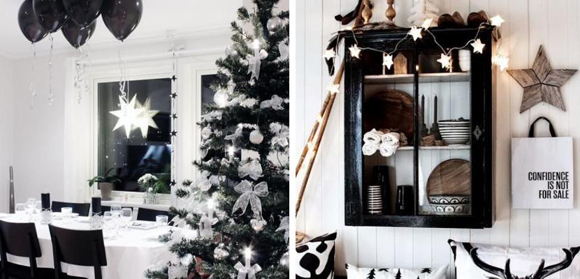 decoración de Navidad negro