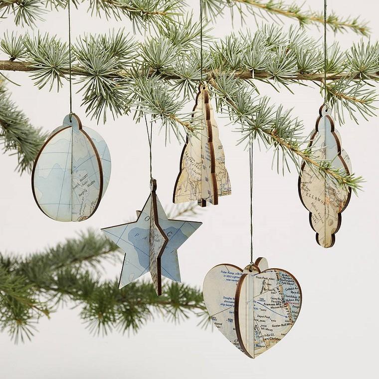 decoración de Navidad vintage