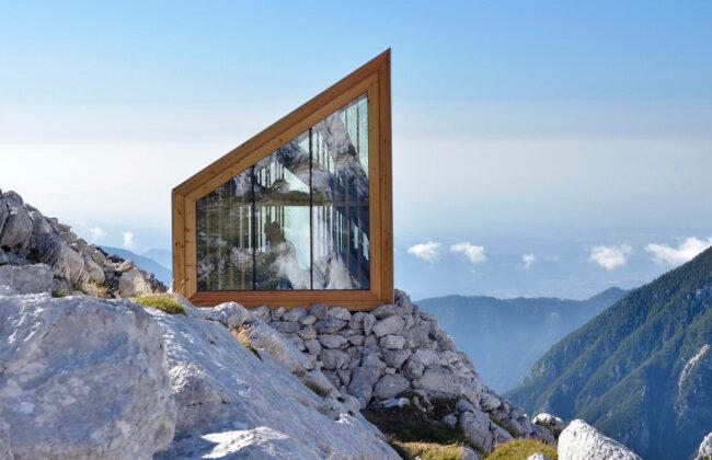 refugios arquitectura moderna