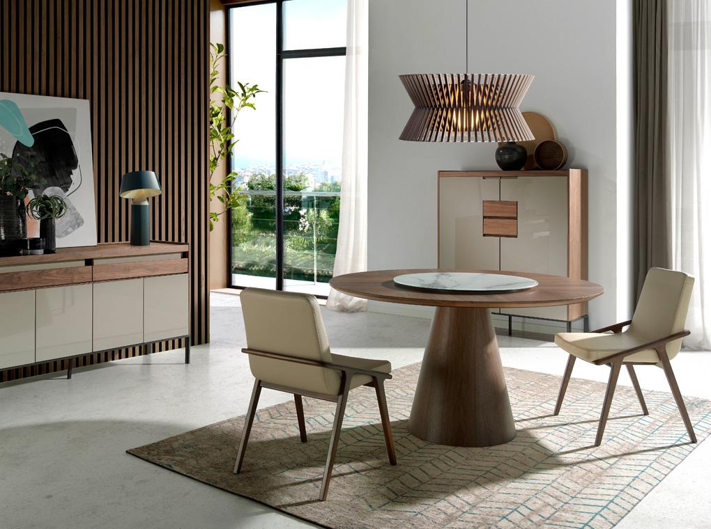 mesas de comedor Angel Cerdá Harmony