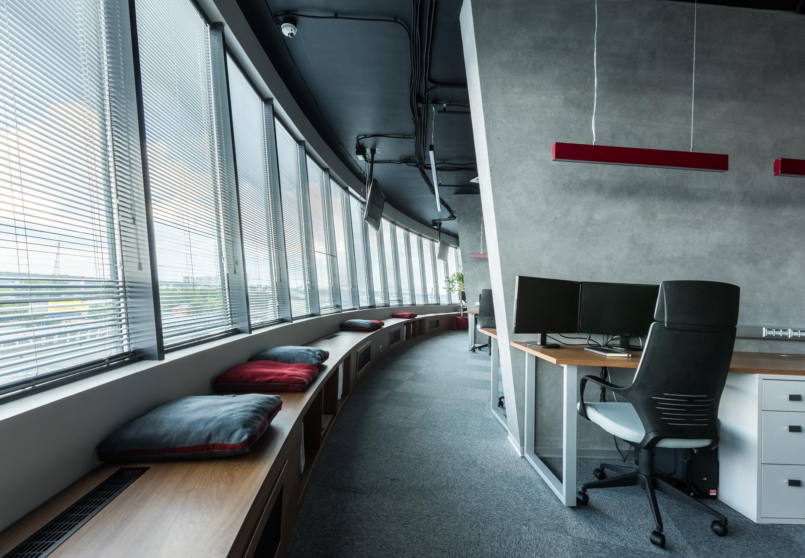 vista ventanas oficina moscu