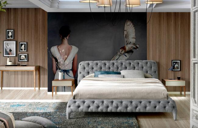 cama tapizada angel cerda