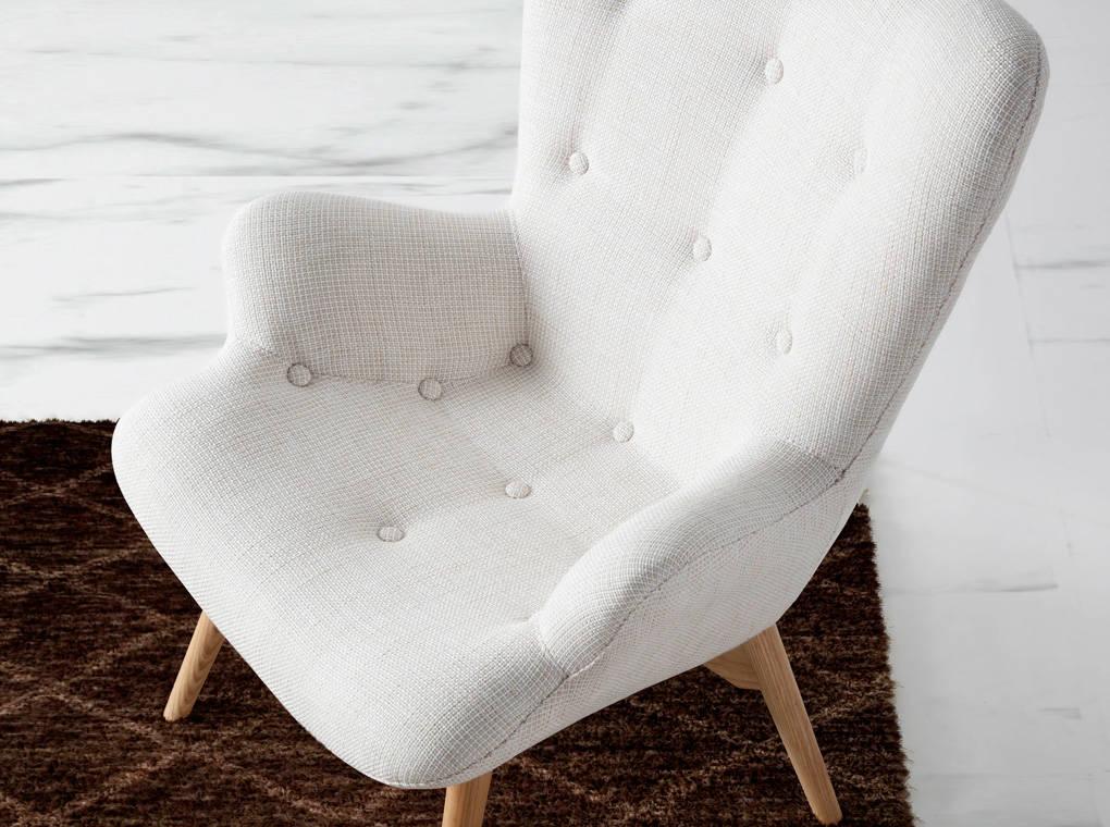 sillón capitoné