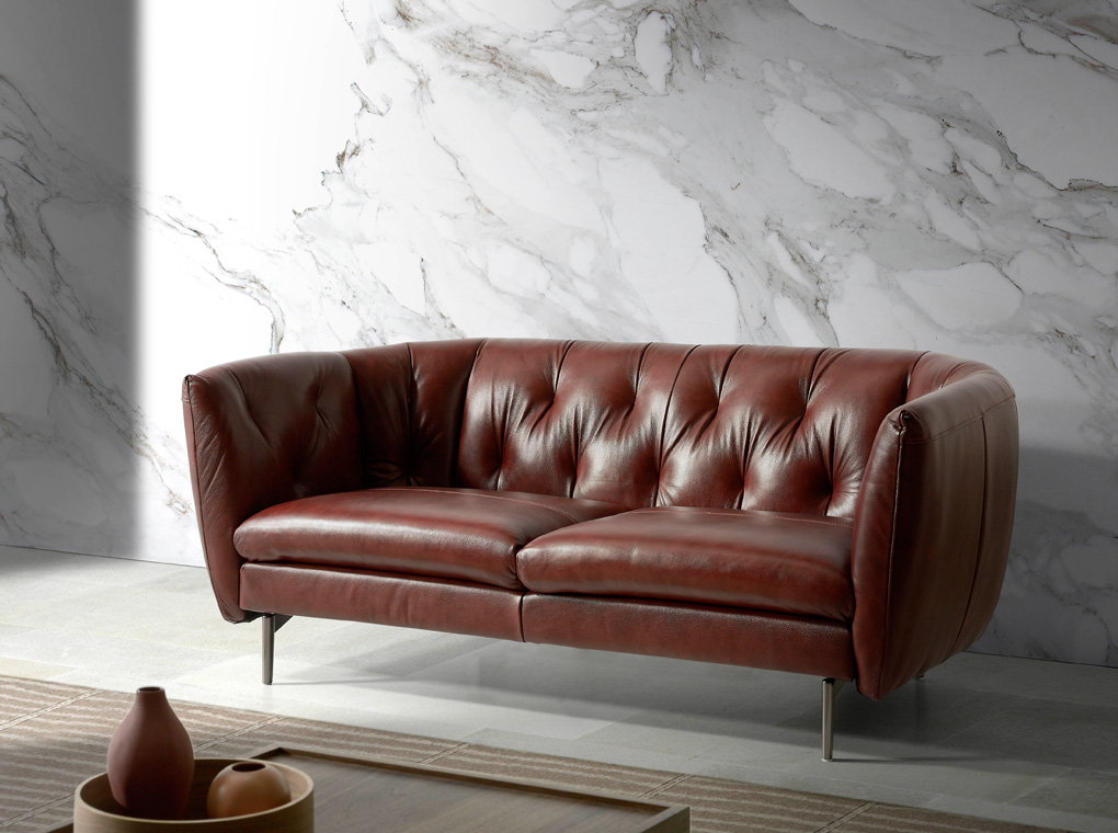 sofa capitoné