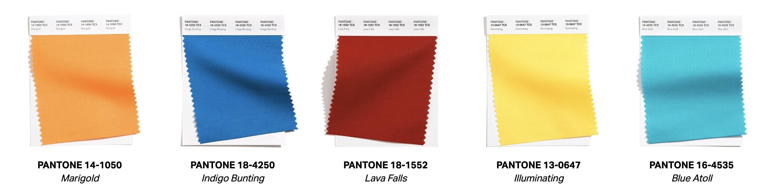 10 colores tendencias pantone