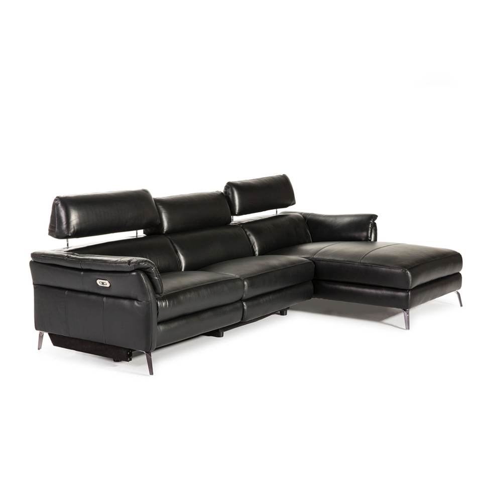 Divani Con Meccanismo Relax [:es]sofá con chaiselong tapizado en piel con mecanismo relax eléctrico  abatible[:en]chaise longue sofa upholstered in leather with folding  electric